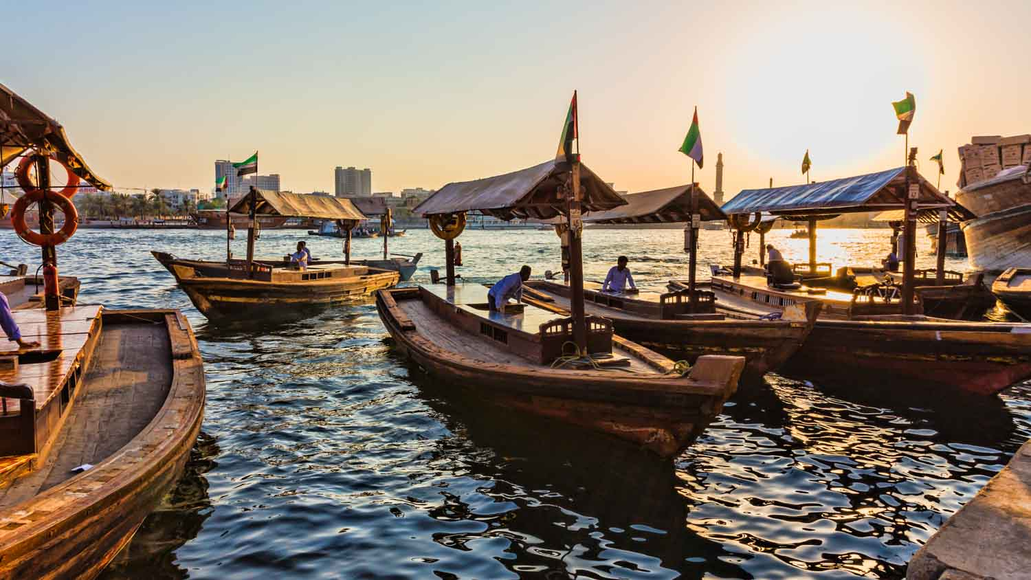 Sunny with Occasional Rain | Dubai Creek